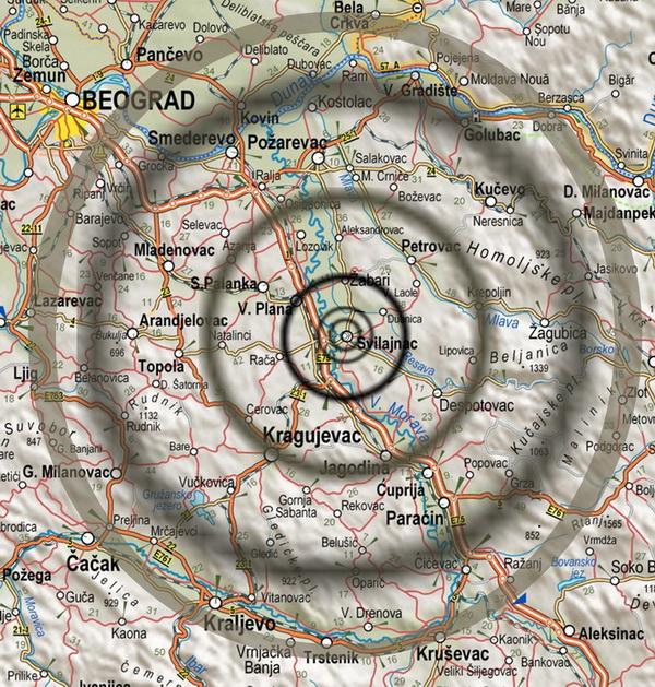 mapa srbije svilajnac Mapa Pokrivenosti :: Božilović Luxor d.o.o.   Svilajnac mapa srbije svilajnac